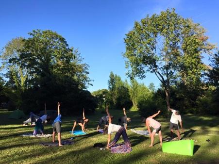 Séjour vélo yoga méditation - 14 au 20 mai 2016 - Châteaux de la Loire