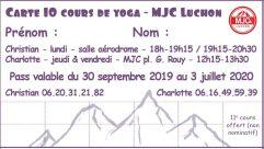 Carte -10 cours-MJC-19-20