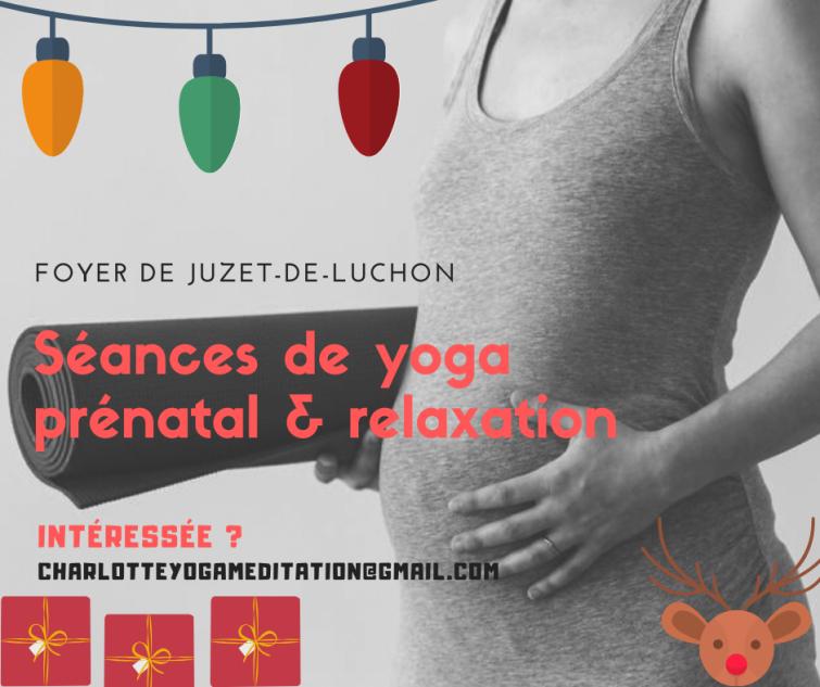 Noel_Séances de yoga prénatal & relaxation en préparation à Juzet-de-Luchon