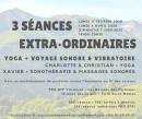 3 séances extra 2020