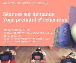 Séances de yoga prénatal & relaxation en préparation à Juzet-de-Luchon
